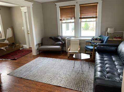 What size rug and coffee table do I need? 12x12 Living ...