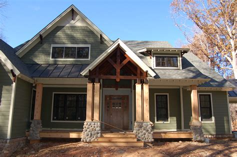Modern Craftsman Style Home  Building Our Modern