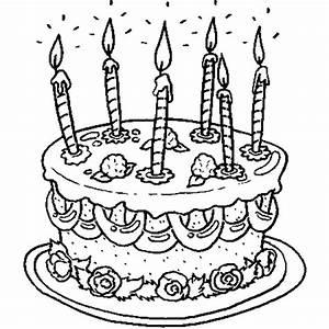 Dessin Gateau Anniversaire : 6 ans coloriage 6 ans en ligne gratuit a imprimer sur ~ Melissatoandfro.com Idées de Décoration