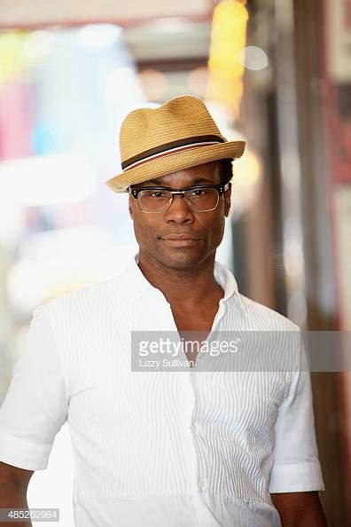 Actor Billy Porter Poses During Kinky Boots Celebrates