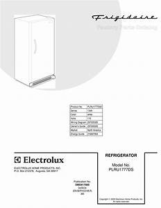 Frigidaire Plru1777ds Factory Parts Catalog Pdf Download