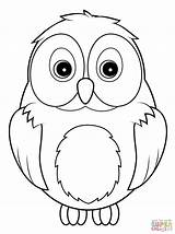 Owl Coloring Pages Google Cute Adults Animal Snowy Drawing Draw Owls Cartoon Printable Sheets A3 Books sketch template