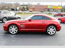 2005 Red Chrysler Crossfire Coupe Trust Auto Used Cars