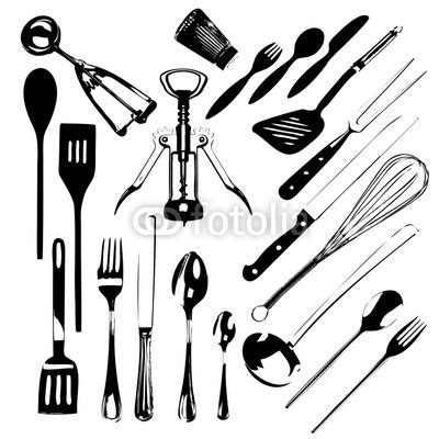 location ustensile de cuisine dessin ustensiles patisserie