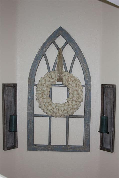 bubble wreath   church window frame church windows