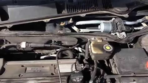 repair windshield wipe control 2003 saturn ion instrument cluster how to change a wiper transmission in a 2003 saturn ion no timing of windshield wipers pt 4 4