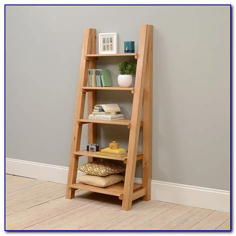 reclaimed pine bookcase  ladder bookcase home