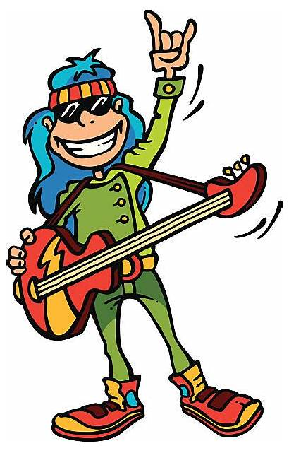 Rock Roll Vector Clip Star Illustrations Illustration