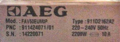 Aeg Favorit 50 Fehler 20 by Sp 252 Lmaschine Aeg Favorit 50 Fehlermeldung 20