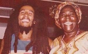 Bob Marley with his mother Cedella | Bob Marley | Pinterest