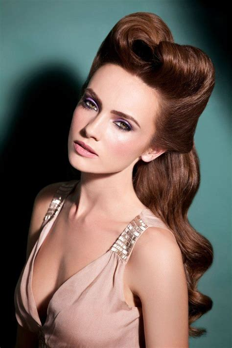 Modern 1940s Hairstyles by 763 Best Hair Make Up Vintage And Otherwise Tutorials