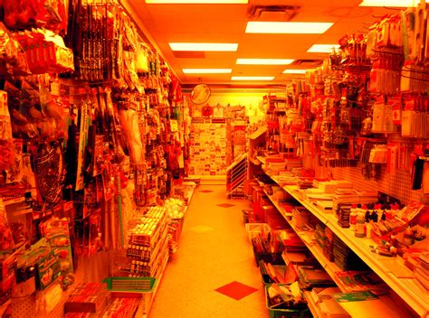 Inside Dollar Store At Garden City Aisle One