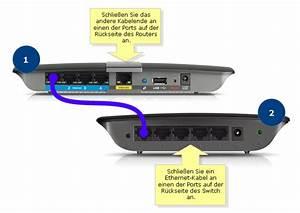 Router Mit Router Verbinden : offizieller support von linksys verbinden eines linksys switch mit einem router ~ Eleganceandgraceweddings.com Haus und Dekorationen