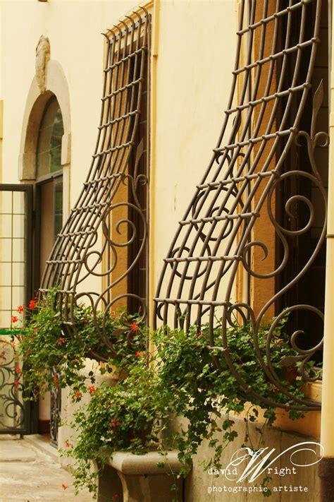 love  antique iron window guards  italy