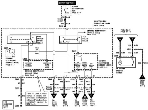 2003 Expedition Headlight Wiring Diagram by My 1998 Expedition Driver Side Window Works Intermittently