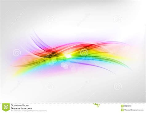 abstract rainbow stock image image