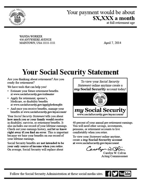 social security disability award letter copy ssi award letter letters free sle letters