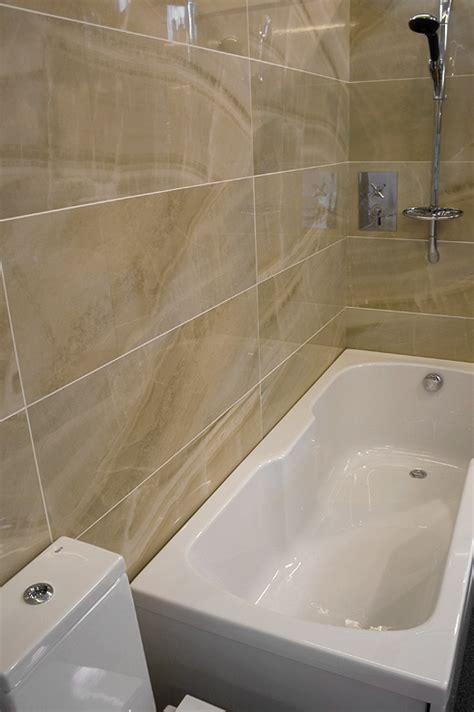 bathroom tile ideas 2011 large or small tiles for bathtub ehow studio design