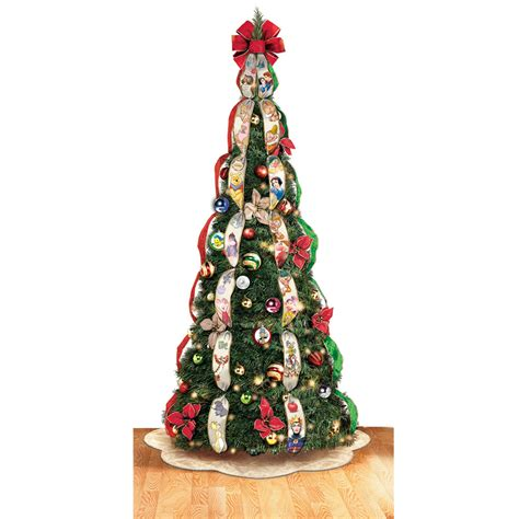 best pop up xmas tree the disney pop up tree hammacher schlemmer