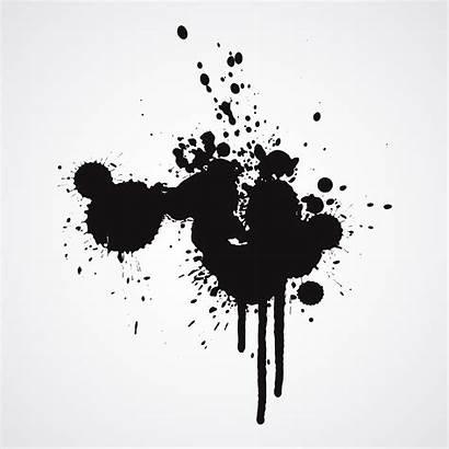 Splash Ink Vector Paint Vectors Splatters Splatter