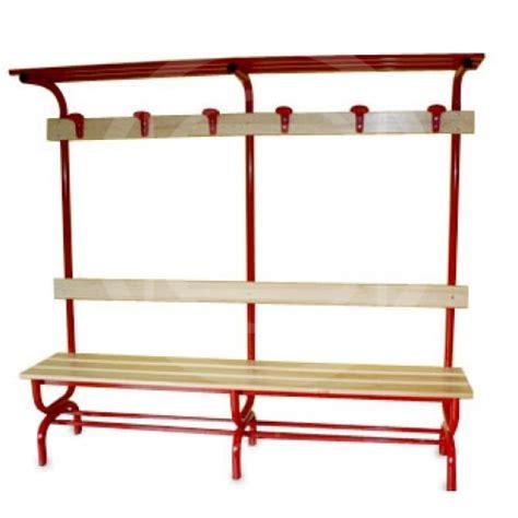 dressing room bench  shelves coat hanger hat rack