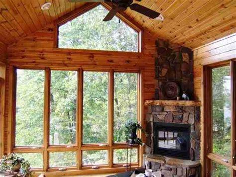 nisswa mn   porch fireplace  season porch