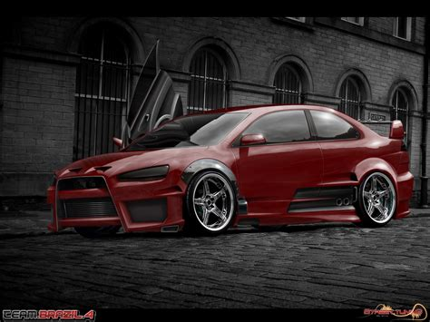view  mitsubishi lancer gts  video features