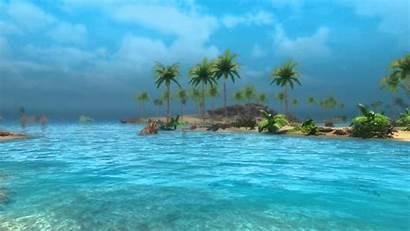 Tropical Desktop Backgrounds Beach Sunny Scenes Wallpapers