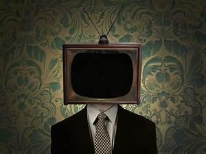 TV Head Man Animation Brady Kennedy