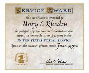 long service certificate template sample - 9 retirement certificate templates doc pdf free