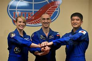 US, Russian, Japanese astronauts return from ISS | Daily ...
