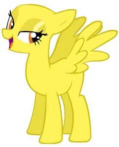 MLP Yellow Pony Base
