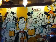 cartoons  legendary artist mario miranda depicting