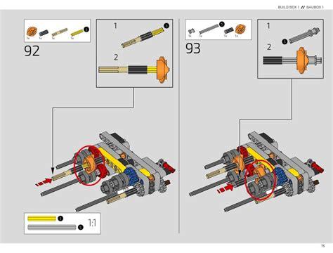 Lego technic 42083 bugatti chiron instructions manual book 1. LEGO 42083 Bugatti Chiron Instructions, Technic