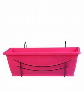 Blumenkasten Mit Wasserspeicher 100 Cm : blumenkasten pink 50 cm mit halterung im greenbop online shop kaufen ~ Sanjose-hotels-ca.com Haus und Dekorationen