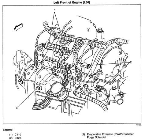 Chevy Impala Coolant Parts Diagram