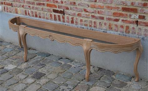 banquette bout de lit sculpture ornementale damiaens banquette avec pieds galb 233 s banquette en bois sculpt 233 e