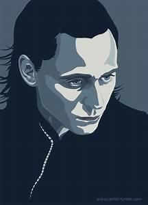 Loki (vector) by trzecipromien on deviantART