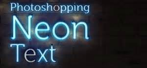 How to shop neon text shop