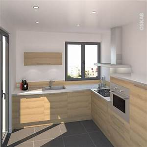 1000 images a propos de cuisine equipee design oskab sur for Idee deco cuisine avec meuble en bois scandinave