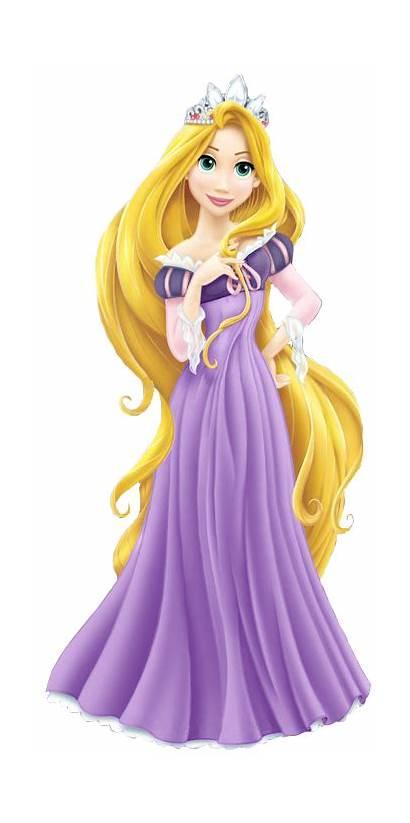 Rapunzel Disney Princess Princesas Clipart Tangled Princesa