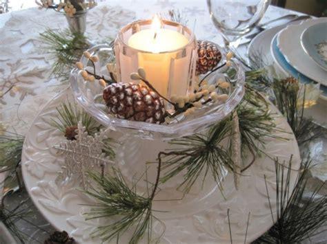 simple winter centerpieces winter tablescape decorating ideas