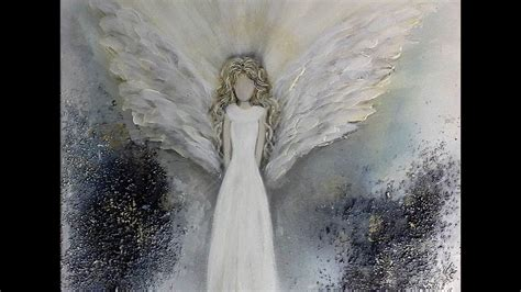 einfach malen easy painting  angel  youtube