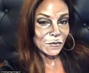 become a makeup artist online makeup artist magali beauvue transforms into caitlyn