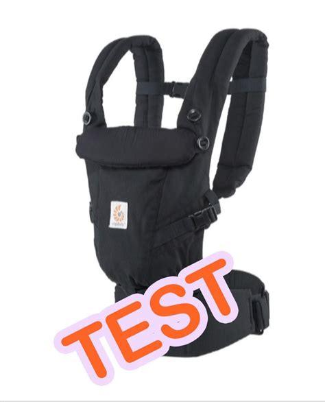 test le porte b 233 b 233 adapt ergobaby d 232 s la naissance neufmois fr