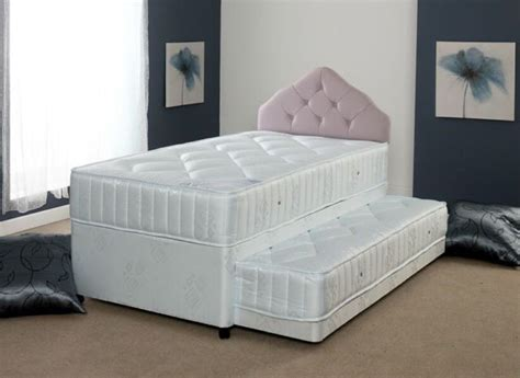 Bed With Pull Out Bed Underneath by Divan Style Guest Bed With Pull Out Bed Underneath Single