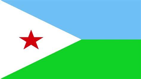 Bandera E Himno Nacional De Yibuti