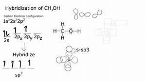 Hybridization Of Ch3oh