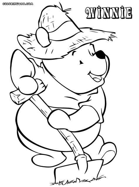 winnie  pooh coloring pages coloring pages