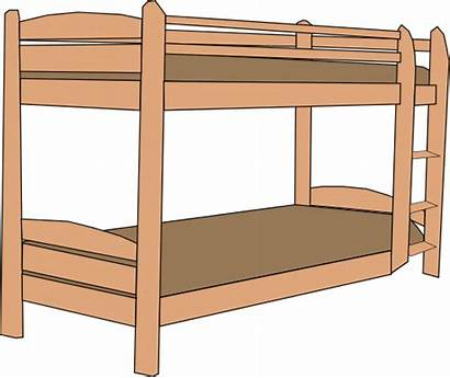 Bed Bunk Clipart Clip Beds Bedroom Microsoft